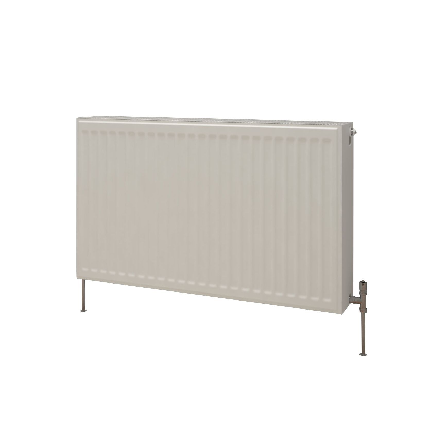 Kudox Premium double radiator Gloss (H)400 mm (W)700