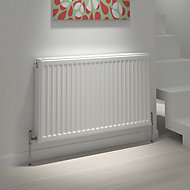 Kudox Premium double radiator Gloss (H)400 mm (W)900 mm