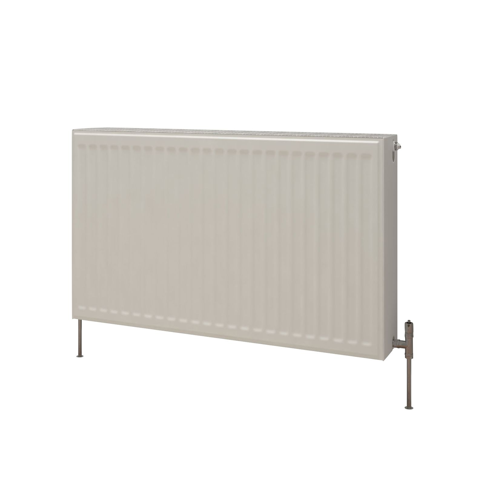 Kudox Premium Single Radiator Gloss (H)700 mm (W)1100