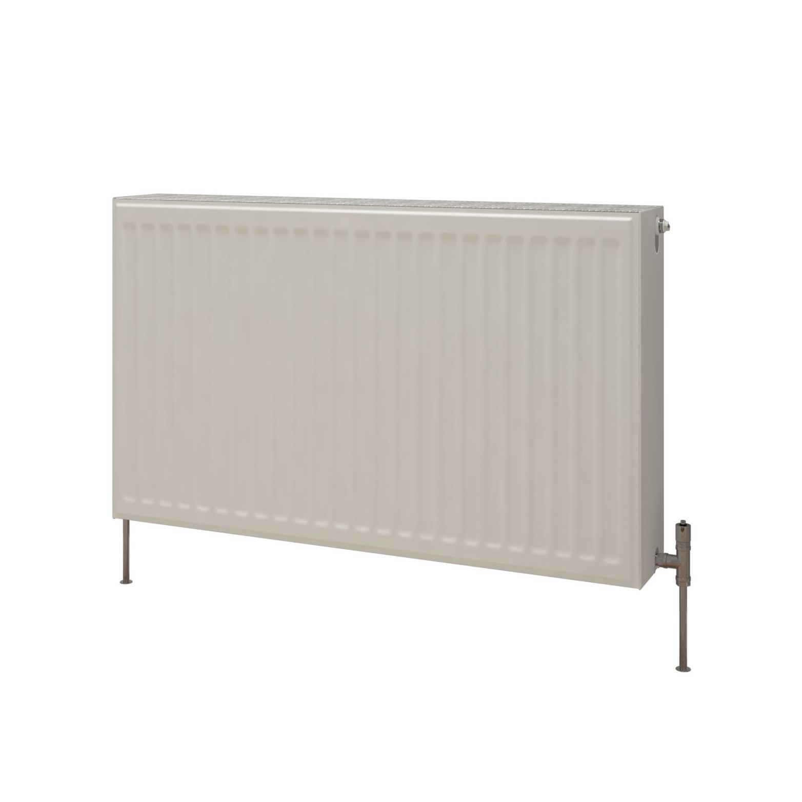 Kudox Premium Double Radiator Gloss (H)700 mm (W)900