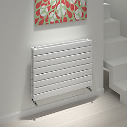 Kudox Tira Horizontal Radiator White (H)588 mm (W)800