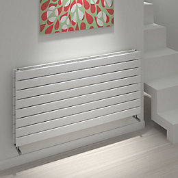 Kudox Tira Horizontal Radiator White (H)588 mm (W)1200