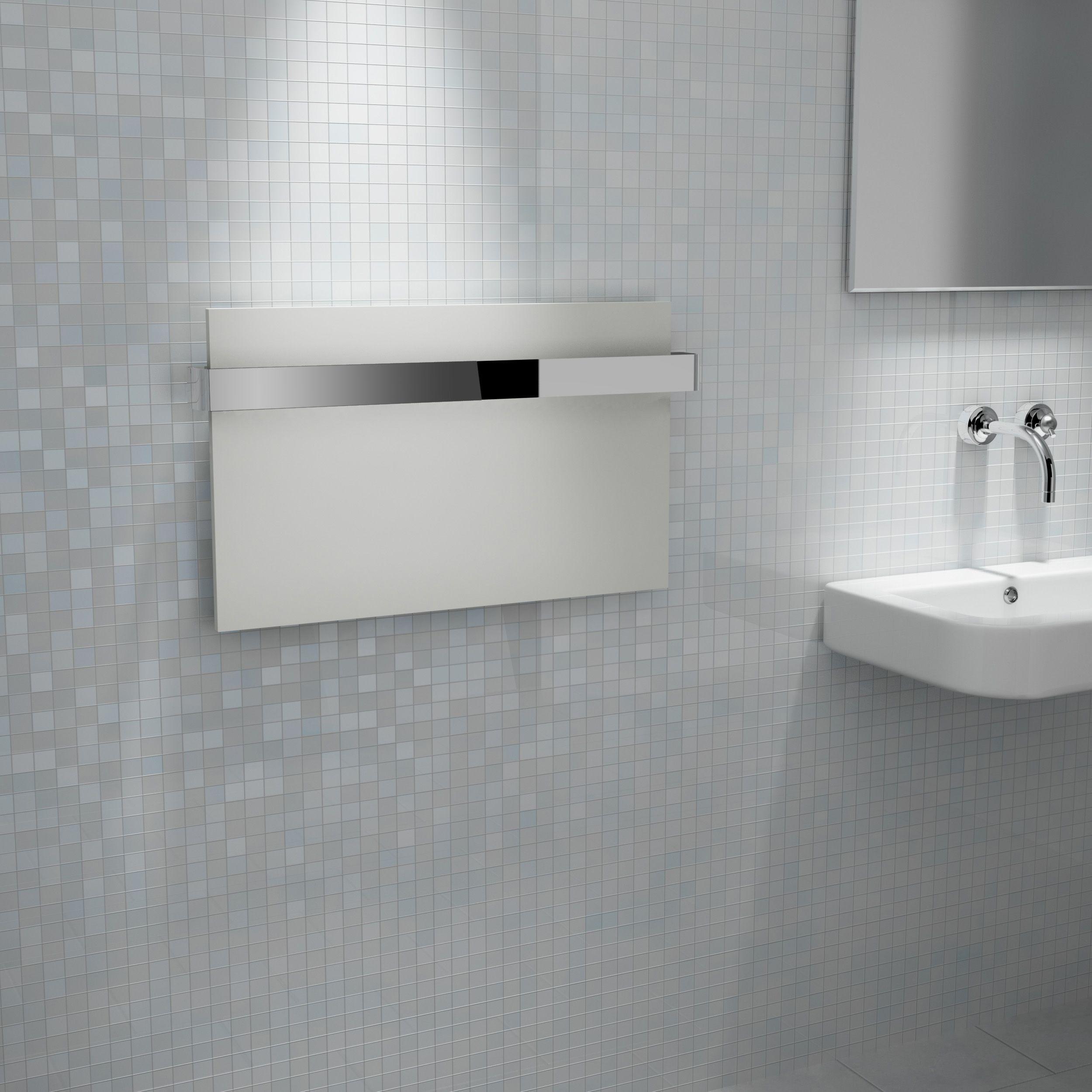 Kudox IKON White Towel Warmer (H)417mm (W)708mm