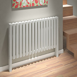 Kudox Axim Horizontal Radiator White (H)800 mm (W)1000