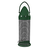Peckish Plastic 0.6L Click top peanut feeder (H)340mm (W)1650mm (L)165mm