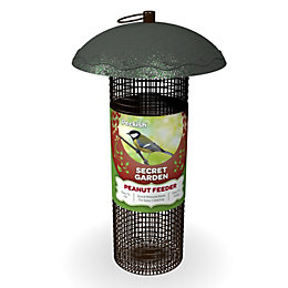 Peckish Steel 0.7L Peanut Feeder (H)340mm (W)700mm (L)260mm