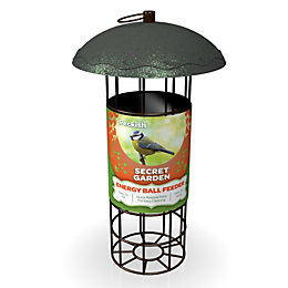 Peckish Steel 0.7L Energy Ball Feeder (H)340mm (W)700mm