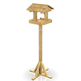 Peckish Wood Everyday bird table (H)2300mm (Dia)550mm