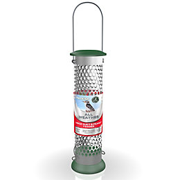 Peckish Steel 0.7L All weather large suet &