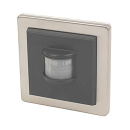 LightwaveRF Stainless Steel Wall Mounted Sensor Pir Included
