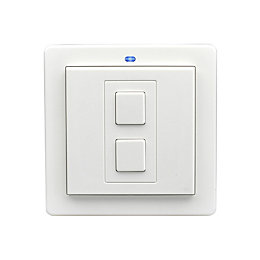 LightwaveRF Single White Wireless Dimmer Switch