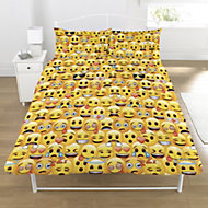 Emoji Yellow Double duvet set