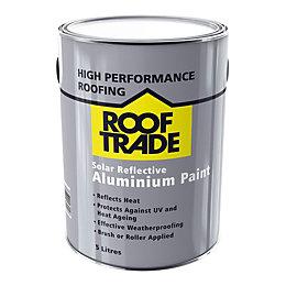 ROOFTRADE Silver Solar Reflective Aluminium Paint 5L