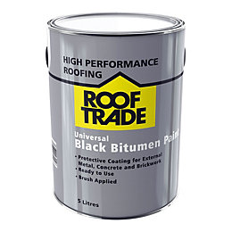 Rooftrade Black Universal bitumen paint 5000ml
