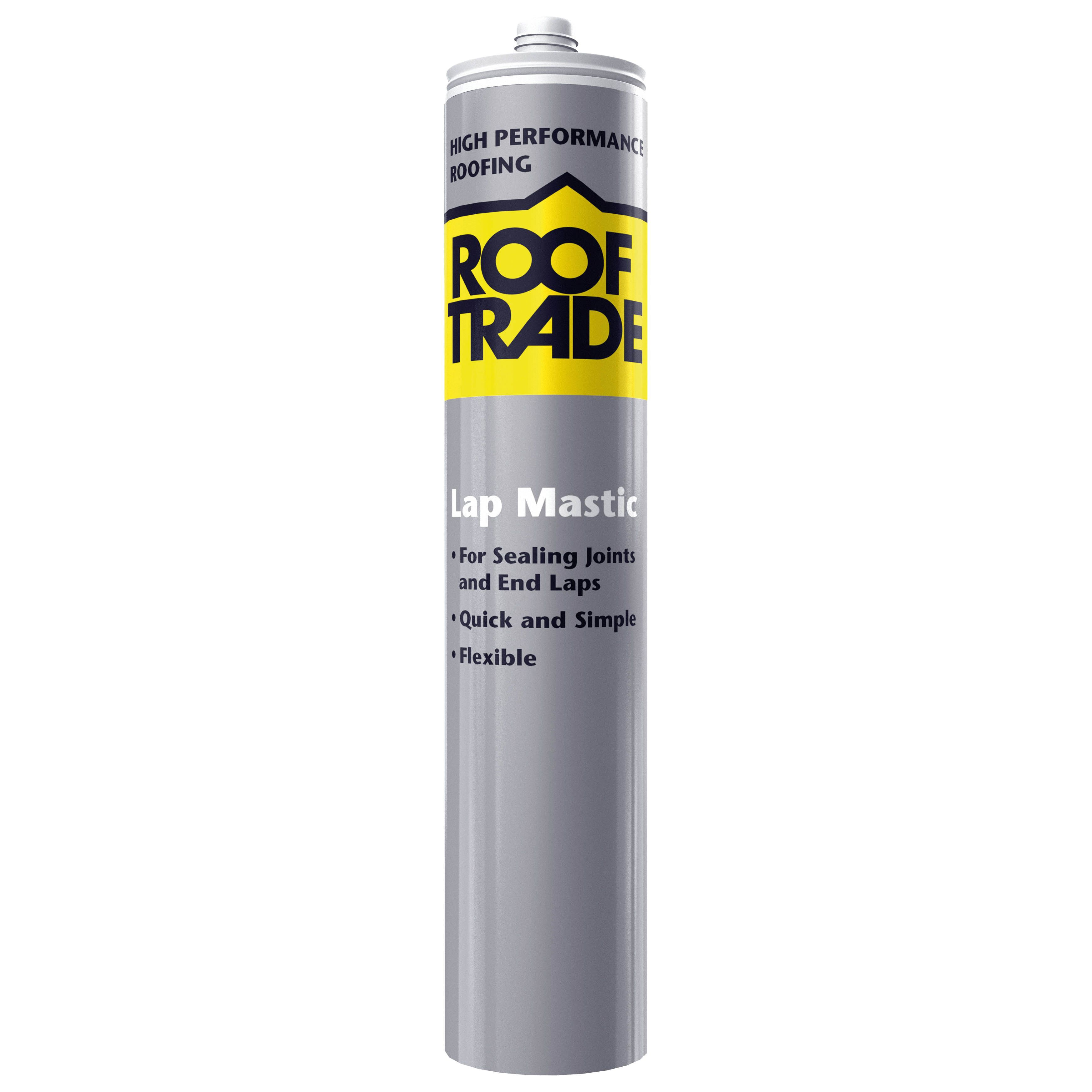 Rooftrade Black Lap Mastic Sealant 310ml Departments