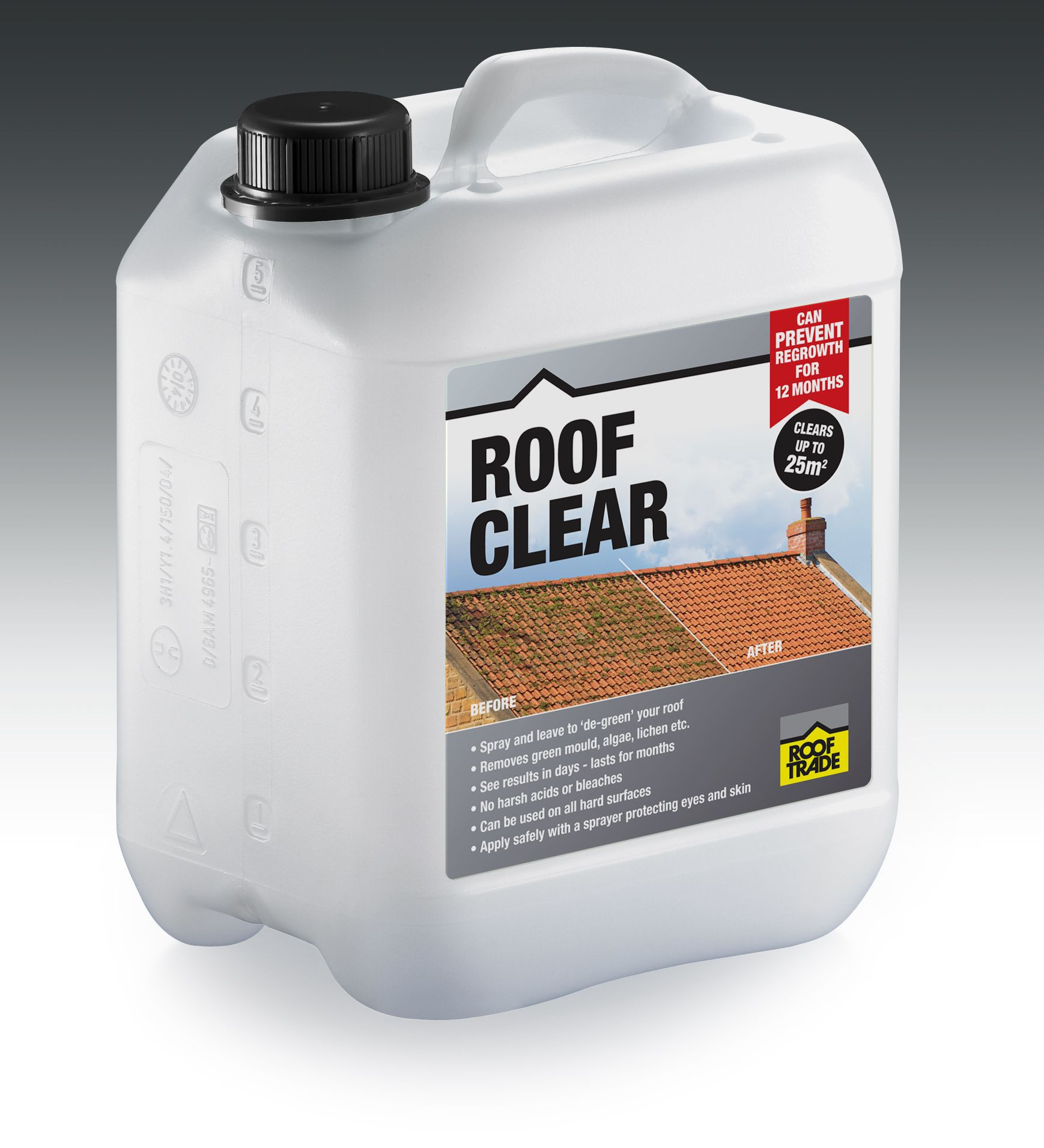 Rooftrade Clear Roof Sealant 5l Departments Diy At B Amp Q