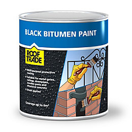 Rooftrade Black Bitumen Paint 1L