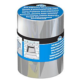 Roof pro Silver Flashing tape (L)3m (W)200mm