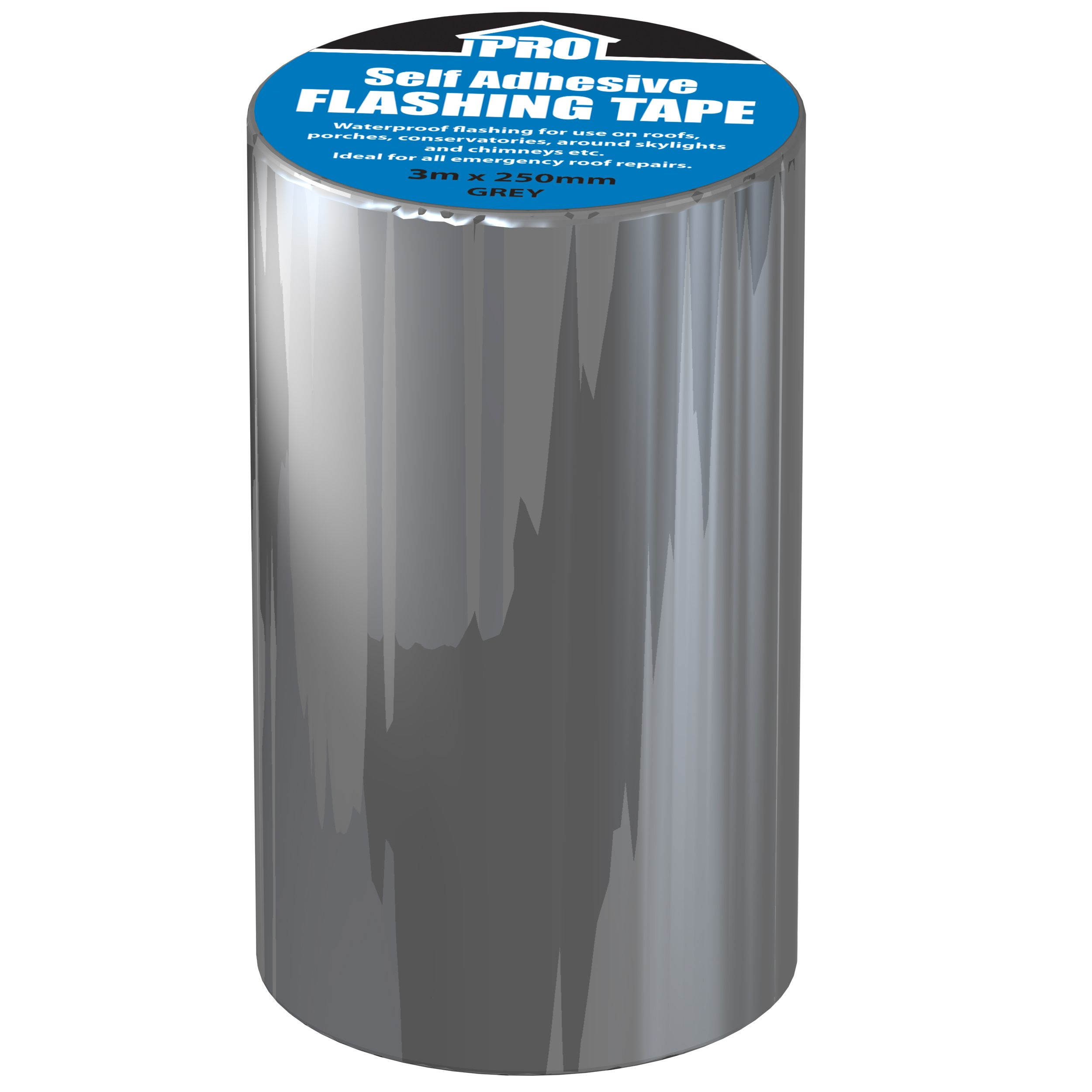 Roof Pro Grey Flashing Tape L 3m W 250mm Departments