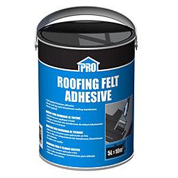 Roof pro Black Solvent-based adhesive 5000ml