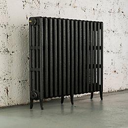 Arroll Neo-Classic 4 Column Radiator, Pewter (W)994mm (H)760mm