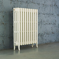Arroll Neo-Classic 4 Column radiator, White (W)754mm (H)760mm