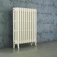 Arroll Neo-Classic 4 Column radiator, White (W)634mm (H)760mm