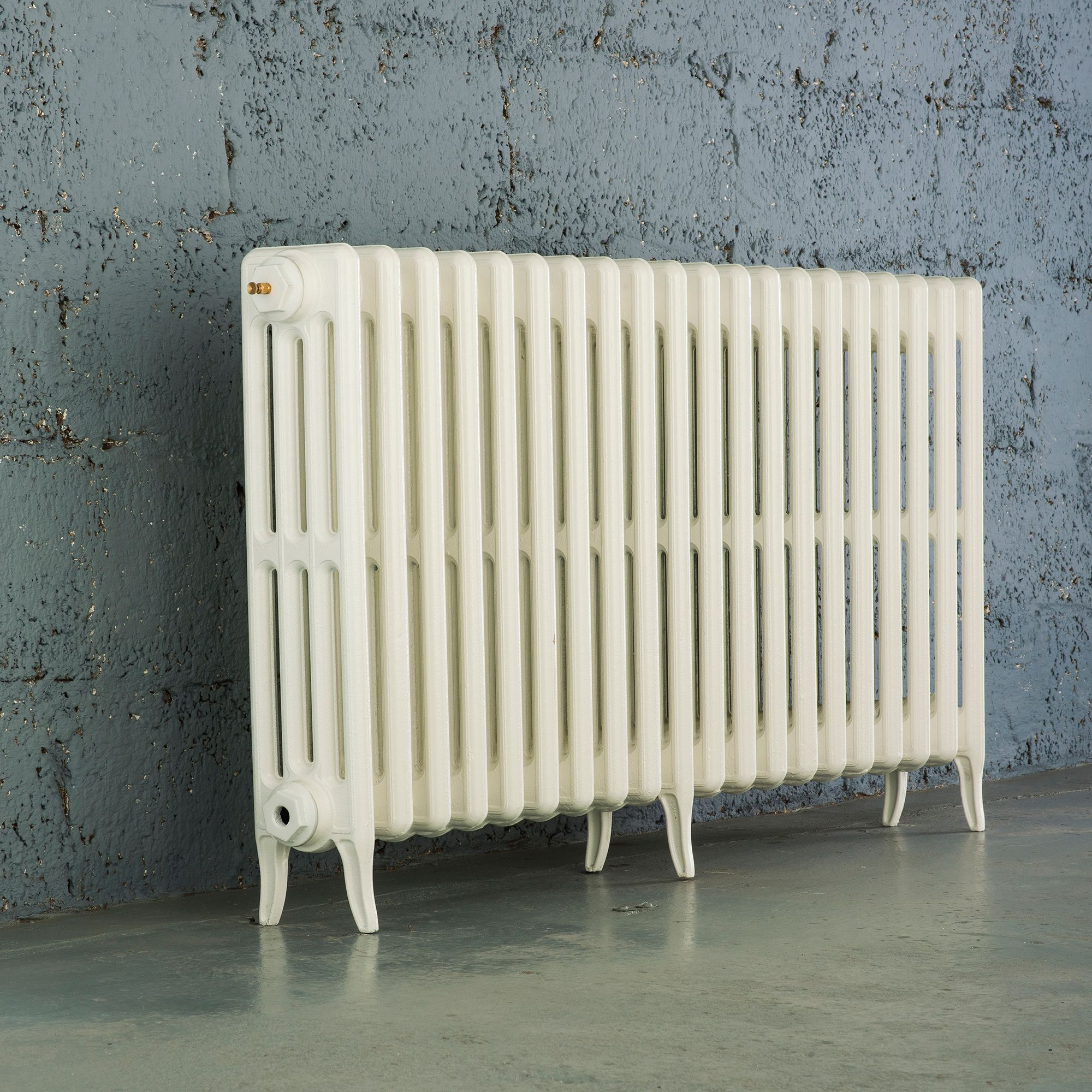 Arroll Neo-Classic 4 Column radiator, White (W)1114mm (H)660mm