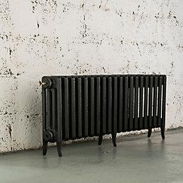 Arroll Neo-Classic 4 Column Radiator, Pewter (W)1114mm (H)460mm
