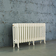 Arroll Neo-Classic 4 Column radiator, White (W)994mm (H)460mm