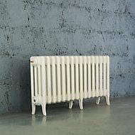 Arroll Neo-Classic 4 Column radiator, White (W)874mm (H)460mm