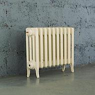 Arroll Neo-Classic 4 Column radiator, Cream (W)754mm (H)460mm