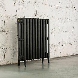 Arroll Neo-Classic 4 Column Radiator, Anthracite (W)754mm