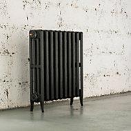 Arroll Neo-Classic 4 Column radiator, Anthracite (W)634mm (H)660mm