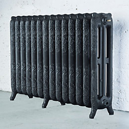 Arroll Montmartre 3 Column radiator, Anthracite (W)1154mm