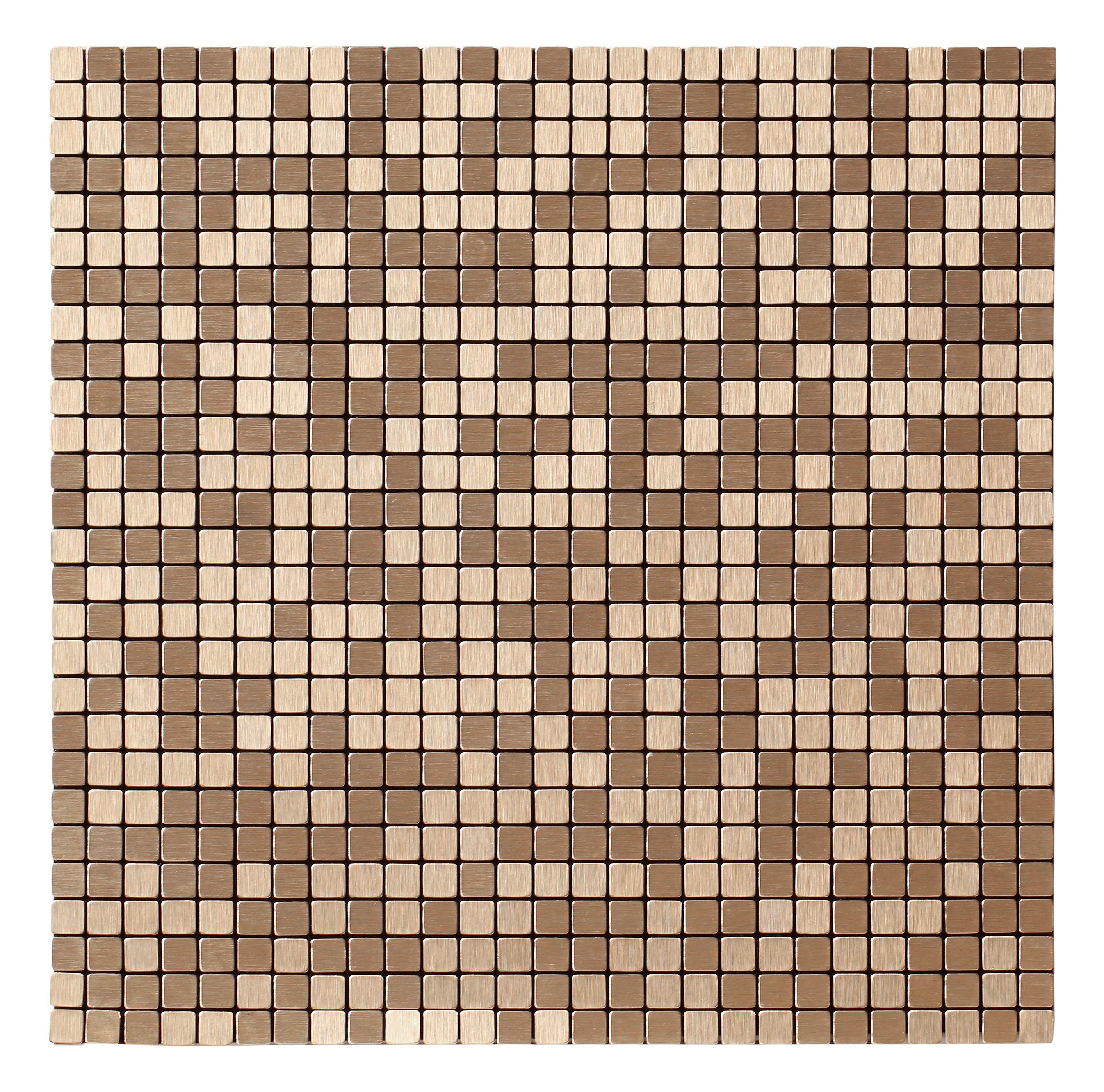 Metal Mosaic Tile Sheets