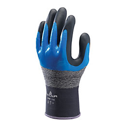 Showa Oil Resistant Full Finger Gloves, Medium, Pair
