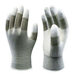 Showa Touchscreen Grip Gloves, Medium, Pair