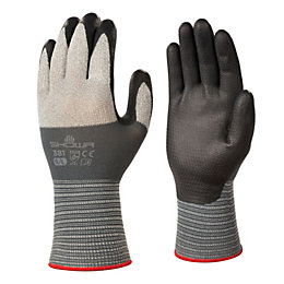 Showa High Dexterity Grip Gloves, Large, Pair