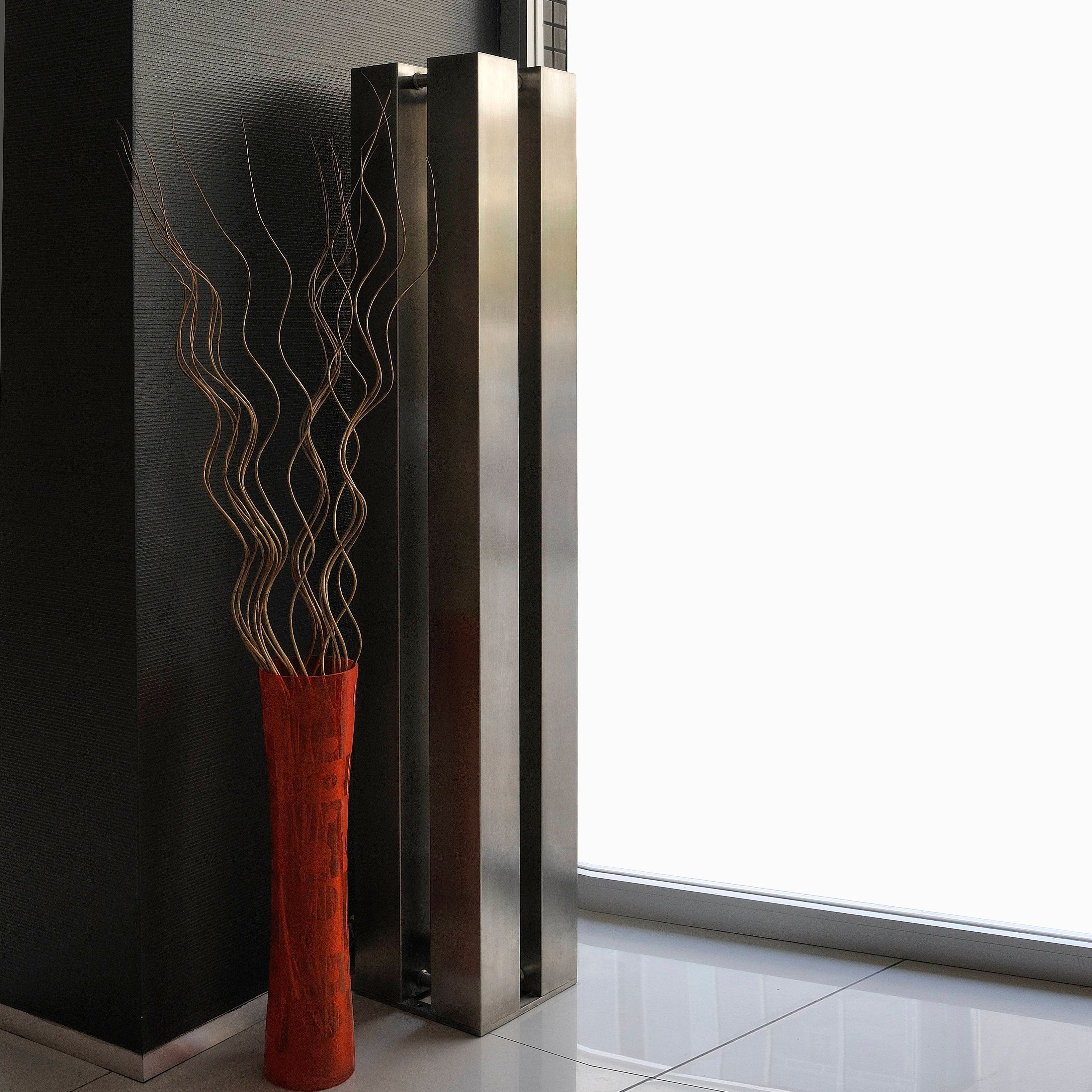 Accuro Korle QUATTRO Vertical Radiator Stainless Steel (H)1510