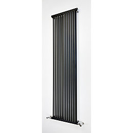 Accuro Korle Zephyra Vertical Radiator Anthracite (H)1800 mm