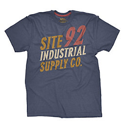 Site Navy T shirt Large