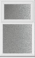 White PVCu Top hung fixed lite Window (H)1040mm (W)610mm