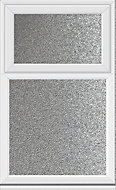 White PVCu Top hung over fixed lite Window (H)1040mm (W)905mm