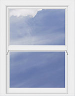 White PVCu Vertical sliding sash window Window (H)1190mm (W)890mm