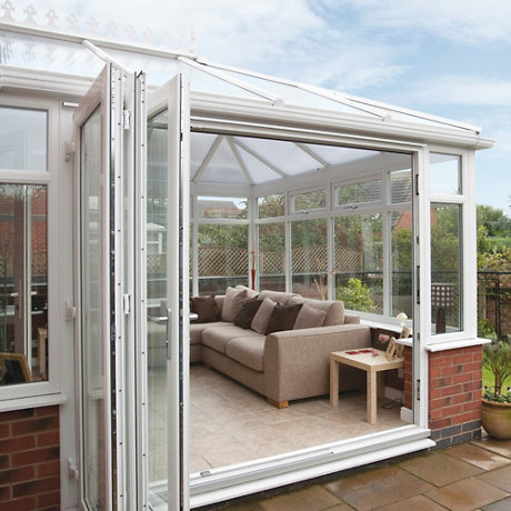 Superior PVCU Folding Patio Doors