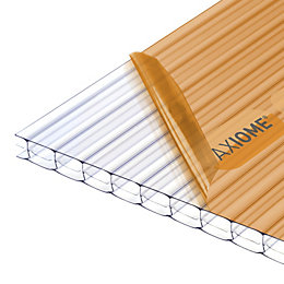 Clear Polycarbonate Roofing Sheet 4m x 690mm