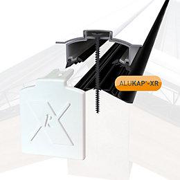 Alukap White Axiome sheet or glass glazing bar,