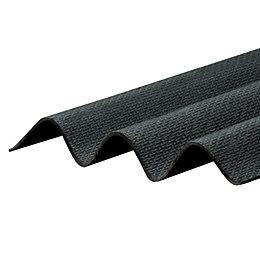 Black Bitumen Corrugated Roofing Sheet 2m x 930mm