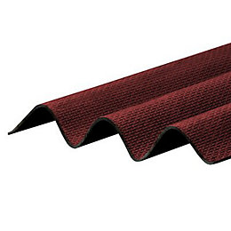 Red Bitumen Corrugated Roofing Sheet 2m x 930mm